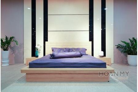 Giường ngủ Melamine - G1600-MFC-388EV-M2