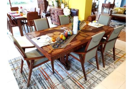 DINING TABLE 210 SET