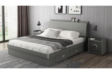 Giường ngủ cao cấp hiện đại G126
