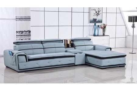 Sofa da Hàn Quốc phòng khách S498