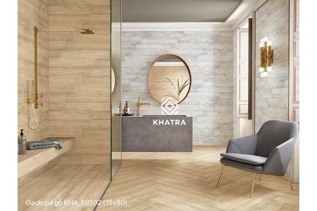 Gạch giả gỗ KHA_58102 – 150×800