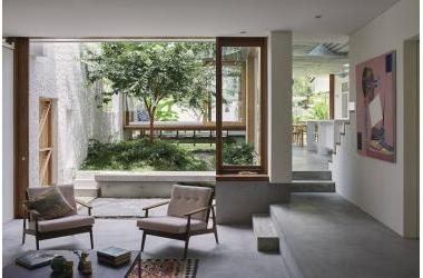 """Gibbon Street - Căn nhà vừa lạ vừa quen với thiết kế độc đáo """"vườn trong nhà"""""""