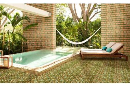 Gạch sân vườn 300×600 Đồng Tâm 3060GREENERY003