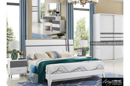 Giường ngủ nhập khẩu LVH-P006