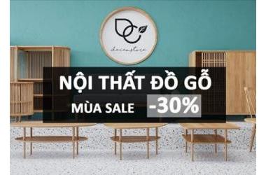 DECEM GIẢM 30%
