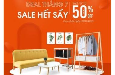 BEYOURS - DEAL THÁNG 7