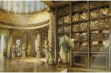 7 thư viện là trung tâm văn hóa, tri thức của nhân loại thời cổ đại