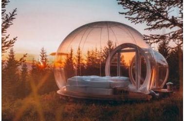 Kiến trúc độc đáo của khách sạn bong bóng