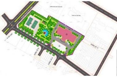Thi tuyển thiết kế kiến trúc Công trình: Trung Tâm hội nghị Thành phố Châu Đốc