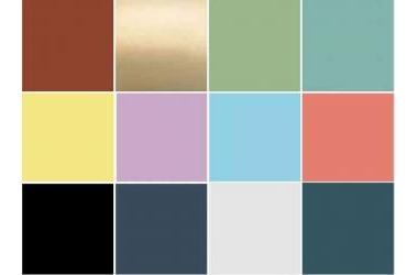 Krylon công bố 12 màu của năm cho năm 2021