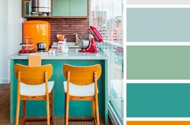20 combo màu sắc tuyệt vời dành cho phòng bếp nhà bạn