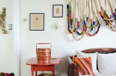 8 giải pháp trang trí bức tường trống bằng vải nổi bật dành cho bạn