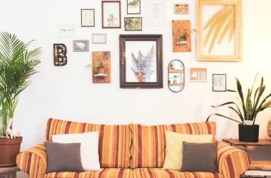 Mẹo treo tranh ảnh trên tường như một chuyên gia
