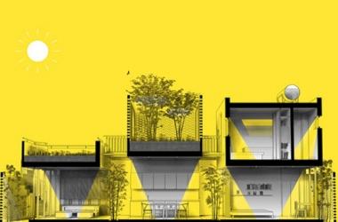 Nhà gạch 3 khối riêng biệt ở Hà Nội