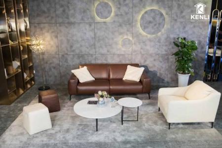 Sofa da thật Sissy E119 (sofa đôi)