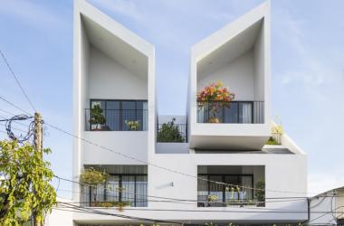 Ngôi nhà 'sinh đôi' độc đáo ở Tây Ninh